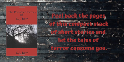 Peel back the pages of this compact stack of short stories and let the tales of terror consume you.